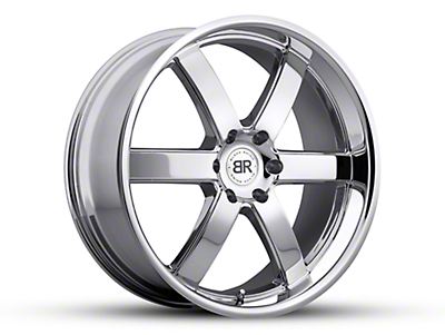 Black Rhino Pondora Chrome 6-Lug Wheel - 22x9.5 (07-18 Sierra 1500)