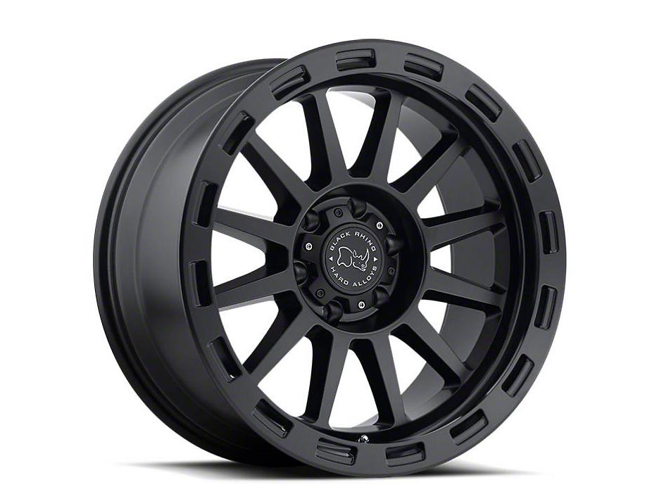 Black Rhino Revolution Matte Black 6-Lug Wheel - 17x9 (07-18 Sierra 1500)