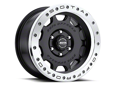 SOTA Off Road D.R.T. Stealth Black 6-Lug Wheel - 17x8.5 (07-18 Sierra 1500)