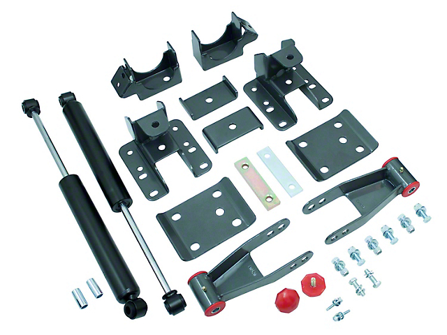 Max Trac 3 to 4-Inch Adjustable Rear Flip Kit with Max Trac Shocks (07-13 Sierra 1500)