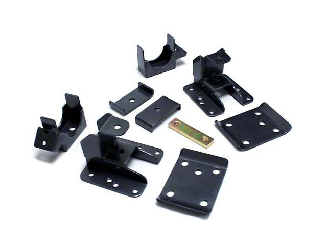 Max Trac Adjustable Rear Flip Lowering Kit - 5-6 in. (07-18 Sierra 1500)
