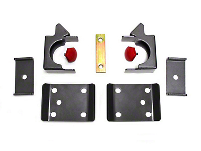 Max Trac Rear Flip Lowering Kit - 7.5 in. (07-18 Sierra 1500)