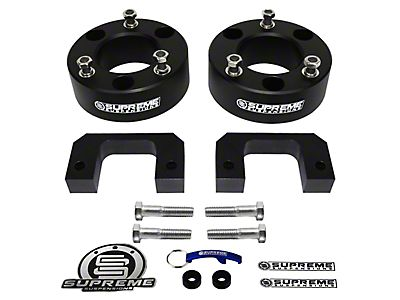 Rough Country Sierra 2 5 in  Leveling Lift Kit S501654 (07