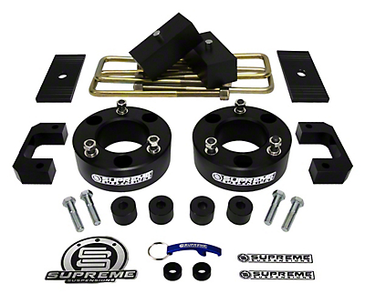 Supreme Suspensions 3.5 in. Front / 3 in. Rear Pro Lift Kit (07-18 Sierra 1500, Excluding 14-18 Denali)