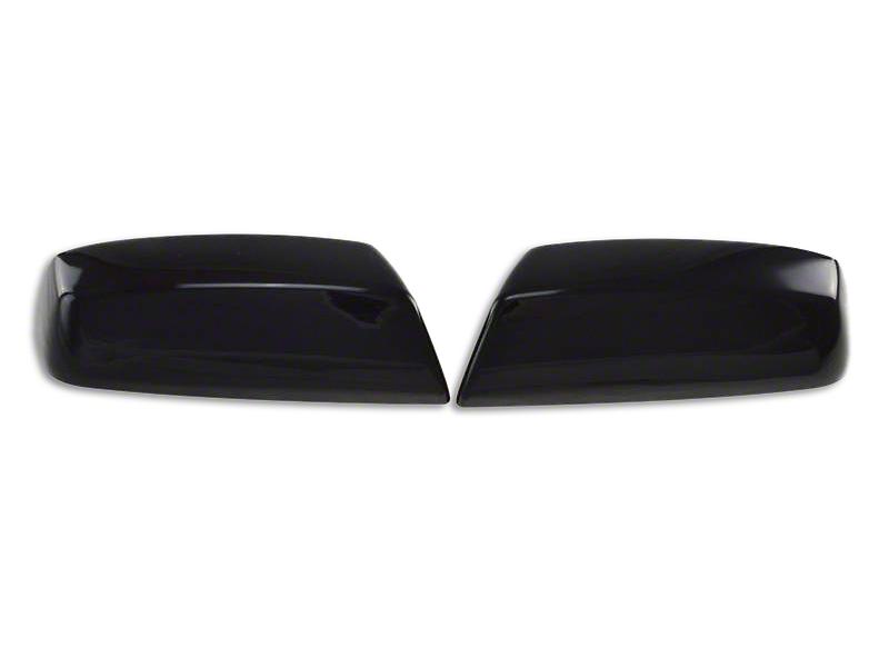 Black Horse Off Road Upper Mirror Covers - Black (14-18 Sierra 1500)