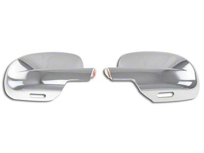 Black Horse Off Road Full Mirror Covers - Chrome (07-13 Sierra 1500)