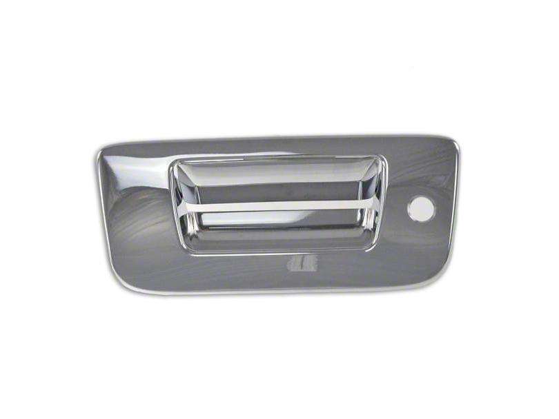 Tailgate Handle Cover; Chrome (07-13 Sierra 1500)