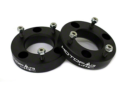 MotoFab 2 in. Front Leveling Kit (07-18 Sierra 1500, Excluding 14-18 Denali)