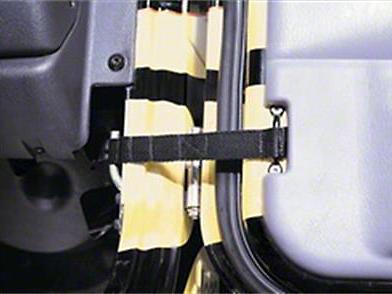 Smittybilt Adjustable Door Straps (07-18 Sierra 1500)