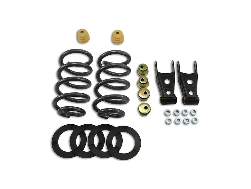 Belltech Lowering Kit - 1-2 in. Front / 2-3 in. Rear (07-13 2WD Sierra 1500 Extended Cab, Crew Cab)