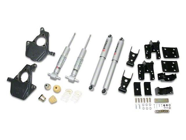 Belltech Lowering Kit - 2 in. Front / 4 in. Rear (07-13 Sierra 1500 w/ Short Box)