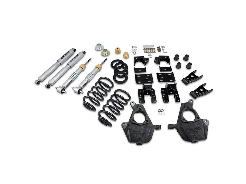 Belltech Lowering Kit - 3-4 in. Front / 5-6 in. Rear (07-13 2WD Sierra 1500 Regular Cab w/ Short Box)