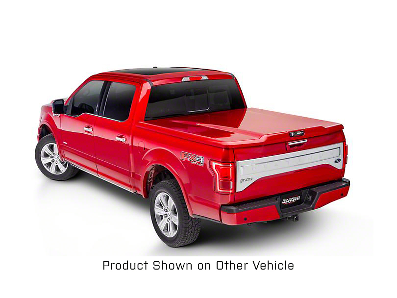 UnderCover Elite LX Hinged Tonneau Cover - Pre-Painted (14-18 Sierra 1500 w/ Short & Standard Box)