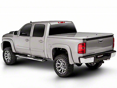 UnderCover LUX Hinged Tonneau Cover - Unpainted (07-13 Sierra 1500 w/ Short Box)