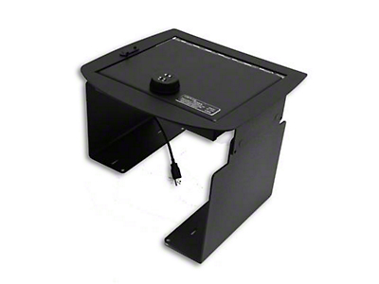 Lock'er Down Economy Console Safe (07-13 Sierra 1500 w/ Bucket Seats)
