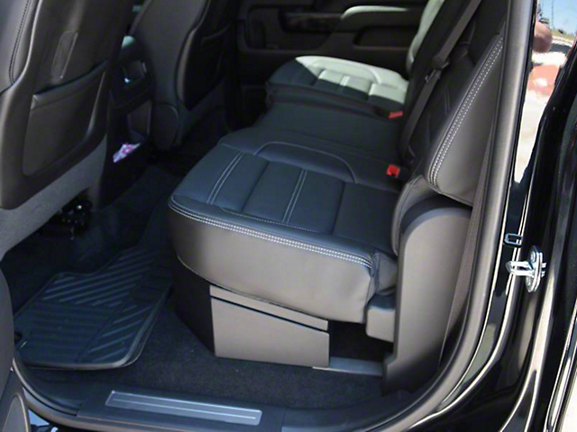 Lock'er Down SUVault Under Seat Long Gun Safe (07-18 Sierra 1500 Crew Cab)
