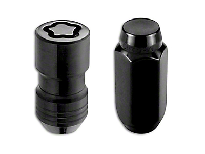 McGard Black 6-Lug Wheel Installation Lug Nut Kit - 14mm x 1.5 in. (07-18 Sierra 1500)