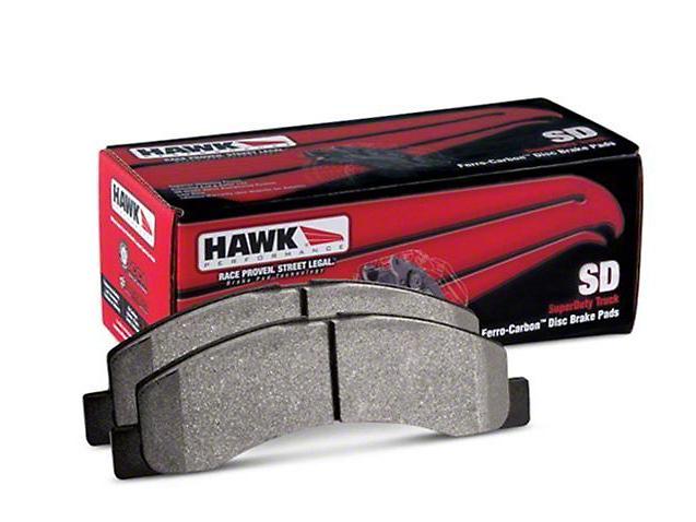 Hawk Performance SuperDuty Brake Pads - Front Pair (07-15 Sierra 1500)