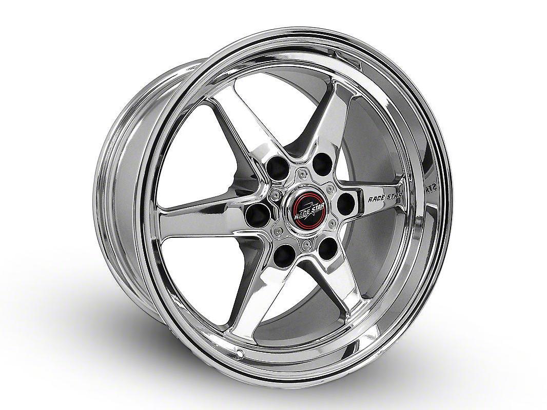 Race Star 93 Truck Star Chrome 6-Lug Wheel - 15x10 (07-18 Sierra 1500)