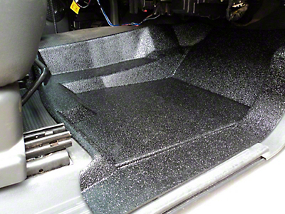 Weatherboots Heavy Duty Front Floor Liners - Black (07-13 Sierra 1500 Extended Cab, Crew Cab)