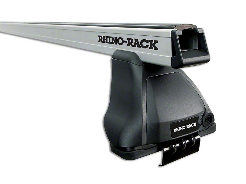 Rhino-Rack Heavy Duty 2500 2-Bar Roof Rack - Silver (07-13 Sierra 1500 Extended Cab, Crew Cab)