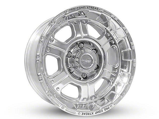 Pro Comp Wheels Series 1089 Polished 6-Lug Wheel - 17x9; -6mm Offset (07-19 Sierra 1500)