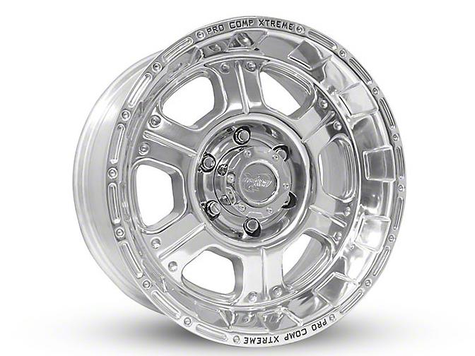 Pro Comp Series 1089 Polished 6-Lug Wheel - 17x9 (07-18 Sierra 1500)
