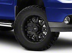 Pro Comp Wheels 01 Series Satin Black 6-Lug Wheel; 17x8; 0mm Offset (07-13 Sierra 1500)
