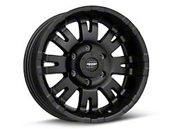 Pro Comp Wheels 01 Series Satin Black 6-Lug Wheel; 17x8; 0mm Offset (99-06 Sierra 1500)