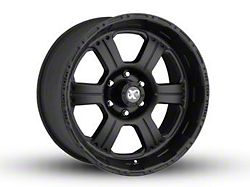 Pro Comp Wheels 89 Series Kore Matte Black 6-Lug Wheel; 17x9; -6mm Offset (99-06 Sierra 1500)