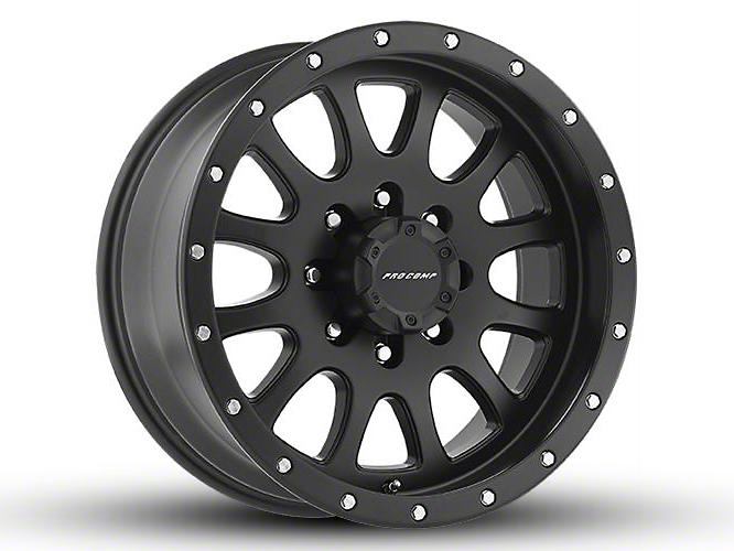 Pro Comp Syndrome Satin Black 6-Lug Wheel - 17x9 (07-18 Sierra 1500)