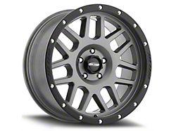Pro Comp Wheels Vertigo Matte Graphite 6-Lug Wheel; 17x9; -6mm Offset (19-21 Sierra 1500)