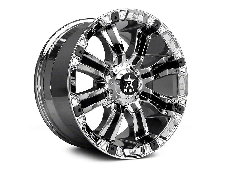 RBP 94R Chrome w/ Black Inserts 6-Lug Wheel - 22x10 (07-18 Sierra 1500)