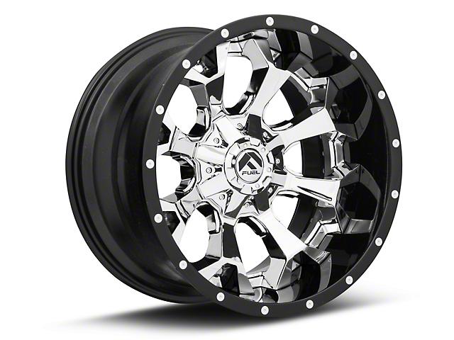 Fuel Wheels Assault Chrome 6-Lug Wheel; 20x12; -43mm Offset (99-06 Sierra 1500)