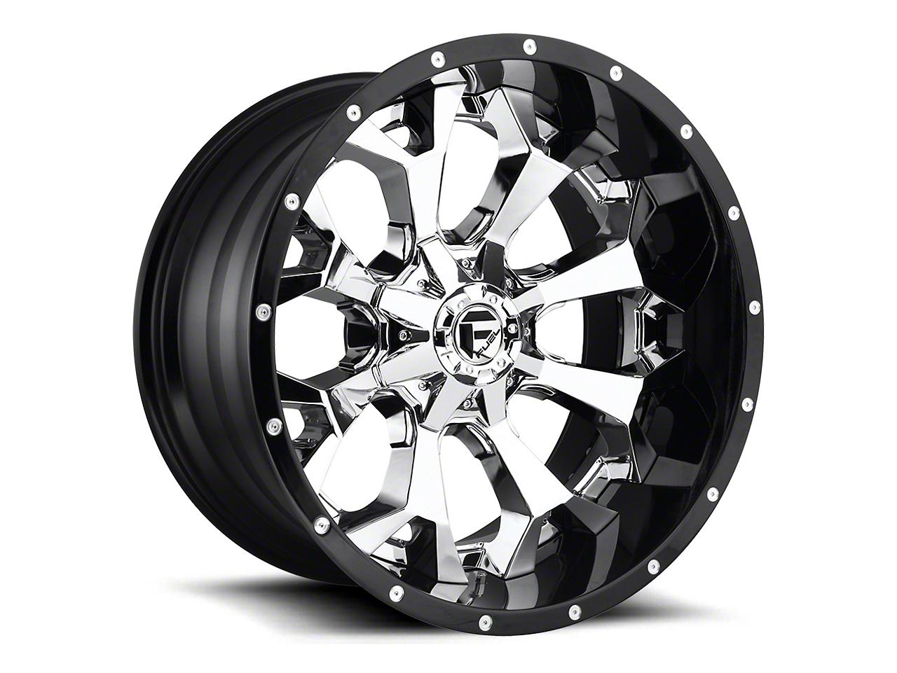Fuel Wheels Assault Matte Black Milled 6-Lug Wheel - 22x14 (07-18 Sierra 1500)