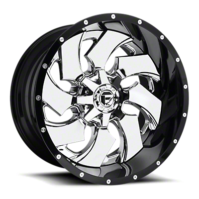Fuel Wheels Cleaver Chrome 6-Lug Wheel - 20x10 (07-18 Sierra 1500)