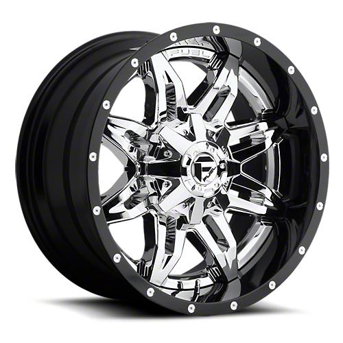 Fuel Wheels Lethal Chrome 6-Lug Wheel - 20x10 (07-18 Sierra 1500)