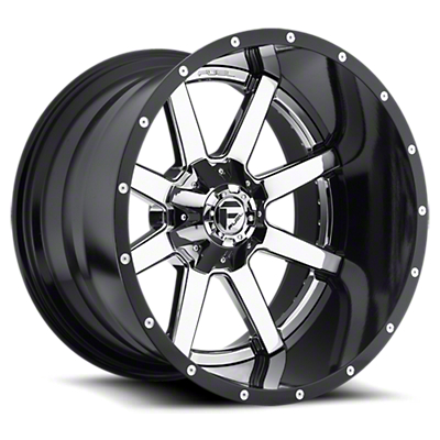 Fuel Wheels Maverick 2-Piece Chrome 6-Lug Wheel - 20x12 (07-18 Sierra 1500)