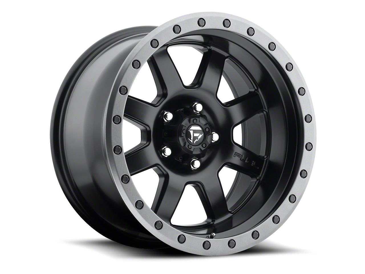 Fuel Wheels Trophy Matte Black 6-Lug Wheel - 18x10 (07-18 Sierra 1500)