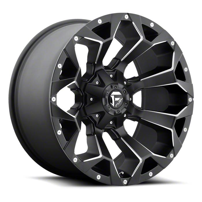 Fuel Wheels Assault Black Milled 6-Lug Wheel - 17x8.5 (07-18 Sierra 1500)