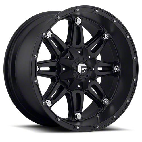 Fuel Wheels Hostage Matte Black 6-Lug Wheel - 17x9 (07-18 Sierra 1500)