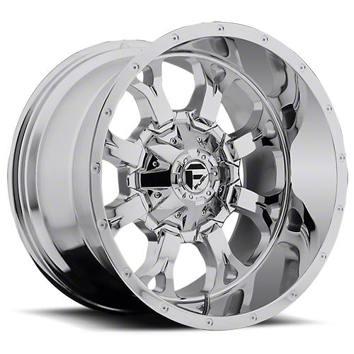 Fuel Wheels Krank Chrome 6-Lug Wheel - 17x9 (07-18 Sierra 1500)