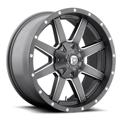 Fuel Wheels Maverick Gun Metal 6-Lug Wheel - 20x9 (07-18 Sierra 1500)