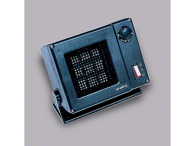 Rugged Ridge Back Seat Heater (Universal Fitment)