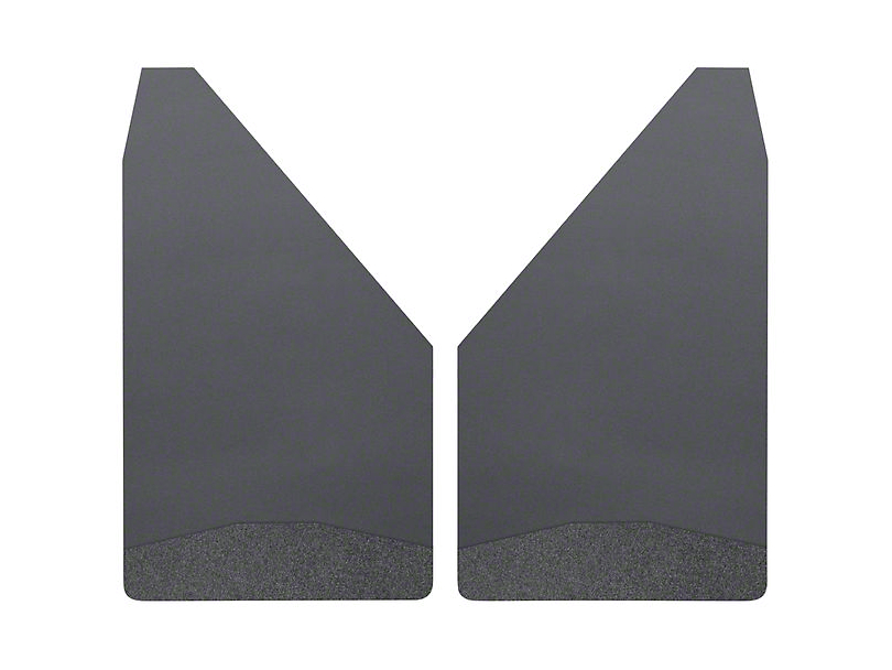 Husky 14 in. Wide Mud Flaps - Black Weight (Universal Fitment)