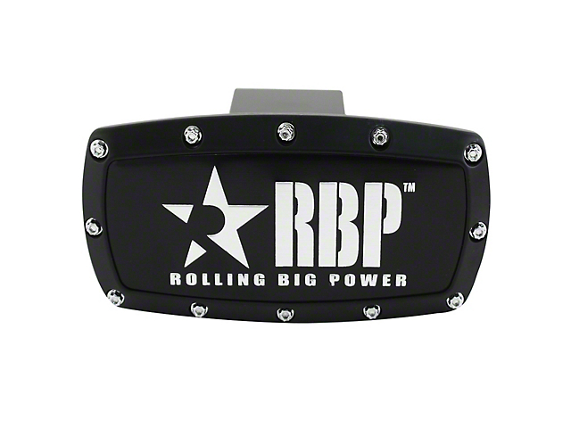 RBP Hitch Cover - Black (Universal Fitment)