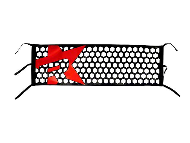 RBP Honeycomb Tailgate Net - Red Star (07-19 Sierra 1500)
