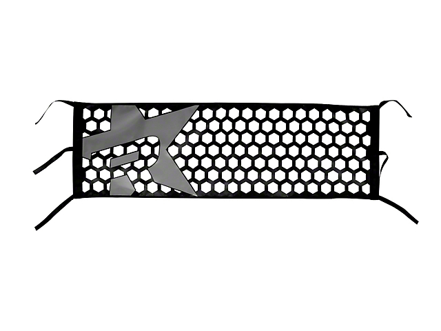 RBP Honeycomb Tailgate Net - Gray Star (07-19 Sierra 1500)