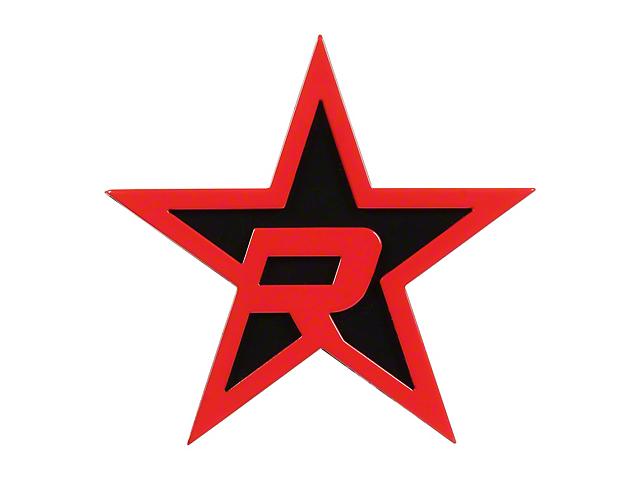 RBP Black/Red Star Hitch Cover (07-19 Sierra 1500)