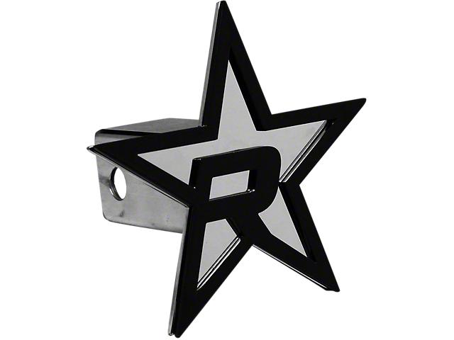 RBP Chrome/Black Star Hitch Cover (Universal Fitment)